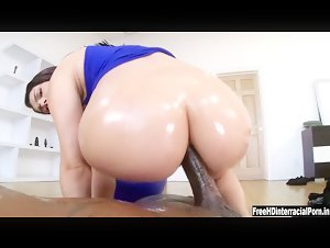 PAWG Valentina Nappi interracial anal porn with rico strong big black cock