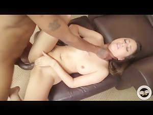 Big ass Bliss Dulce interracial with huge Black cock