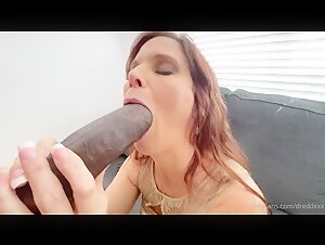 Milf Syren De Mer Homemade interracial anal with Dredd