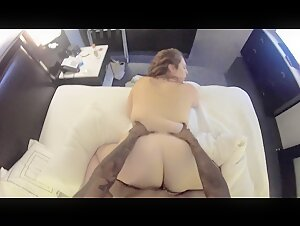 Thick White Slut wife Cheats on Husband with BBC